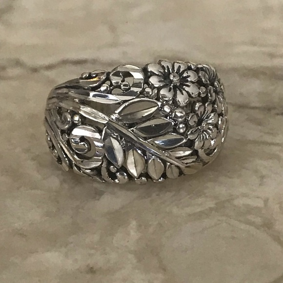 925 Sterling Silver Dome Ring